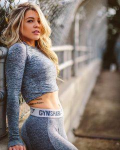 Gymshark female models